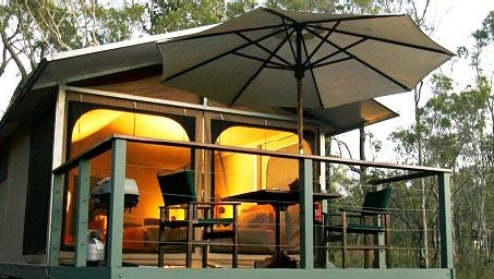 Jabiru Safari Lodge at Mareeba Wetlands - Accommodation NT