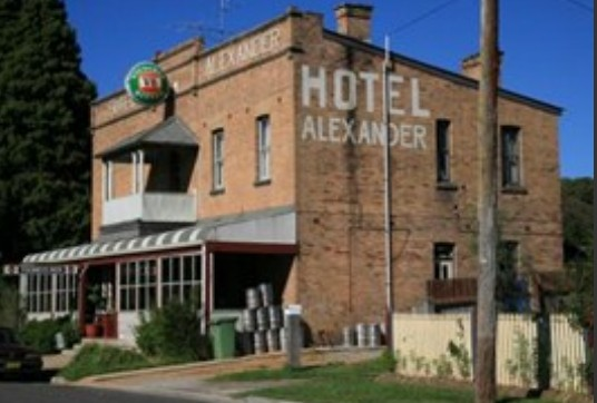 Alexander Hotel Rydal - Accommodation NT