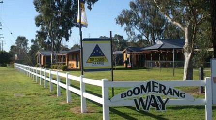 Boomerang Way Tourist Park - Accommodation NT