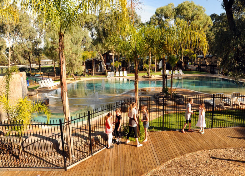 BIG4 Renmark Riverfront Caravan Park - Accommodation NT