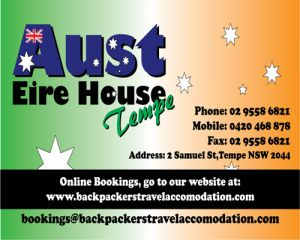 Aust Eire House Tempe - Accommodation NT