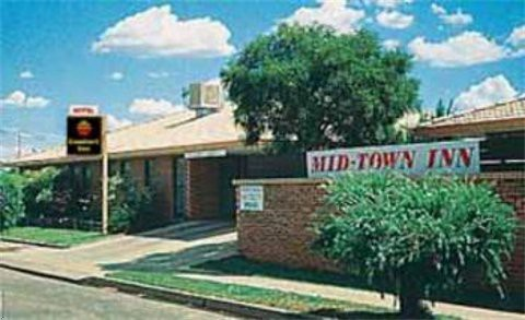 Comfort Inn - Mid Town - Accommodation NT