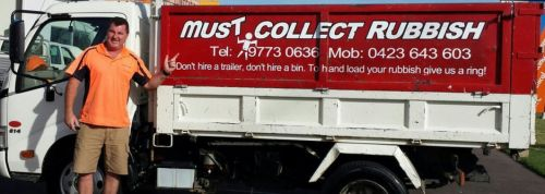 Must Collect Rubbish - Accommodation NT