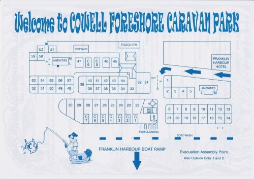 Cowell Foreshore Caravan Park amp Holiday Units - Accommodation NT