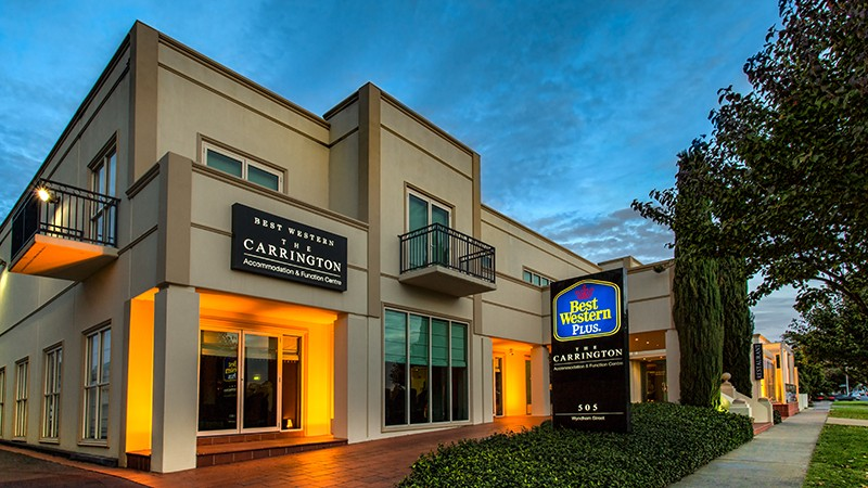BEST WESTERN PLUS The Carrington - Accommodation NT
