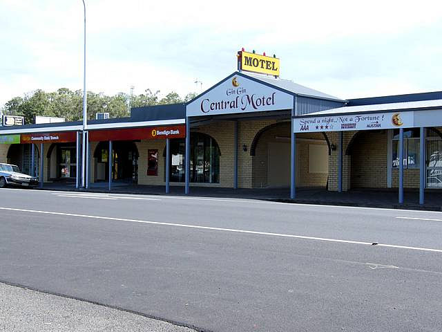 Gin Gin Central Motel - Accommodation NT