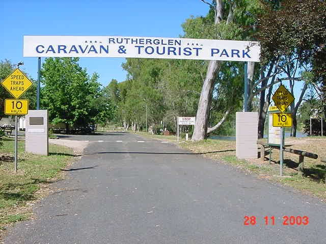 Rutherglen Caravan  Tourist Park - Accommodation NT