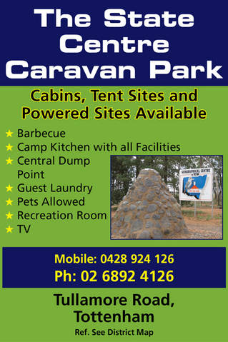 The State Centre Caravan Park - Accommodation NT