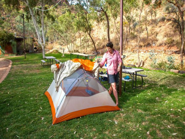 Standley Chasm Angkerle Camping - Accommodation NT