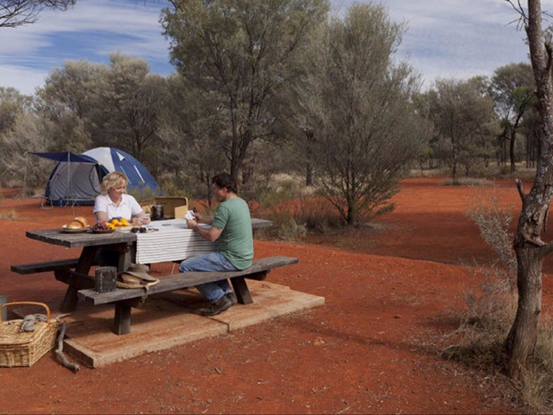 Dry Tank campground - Accommodation NT
