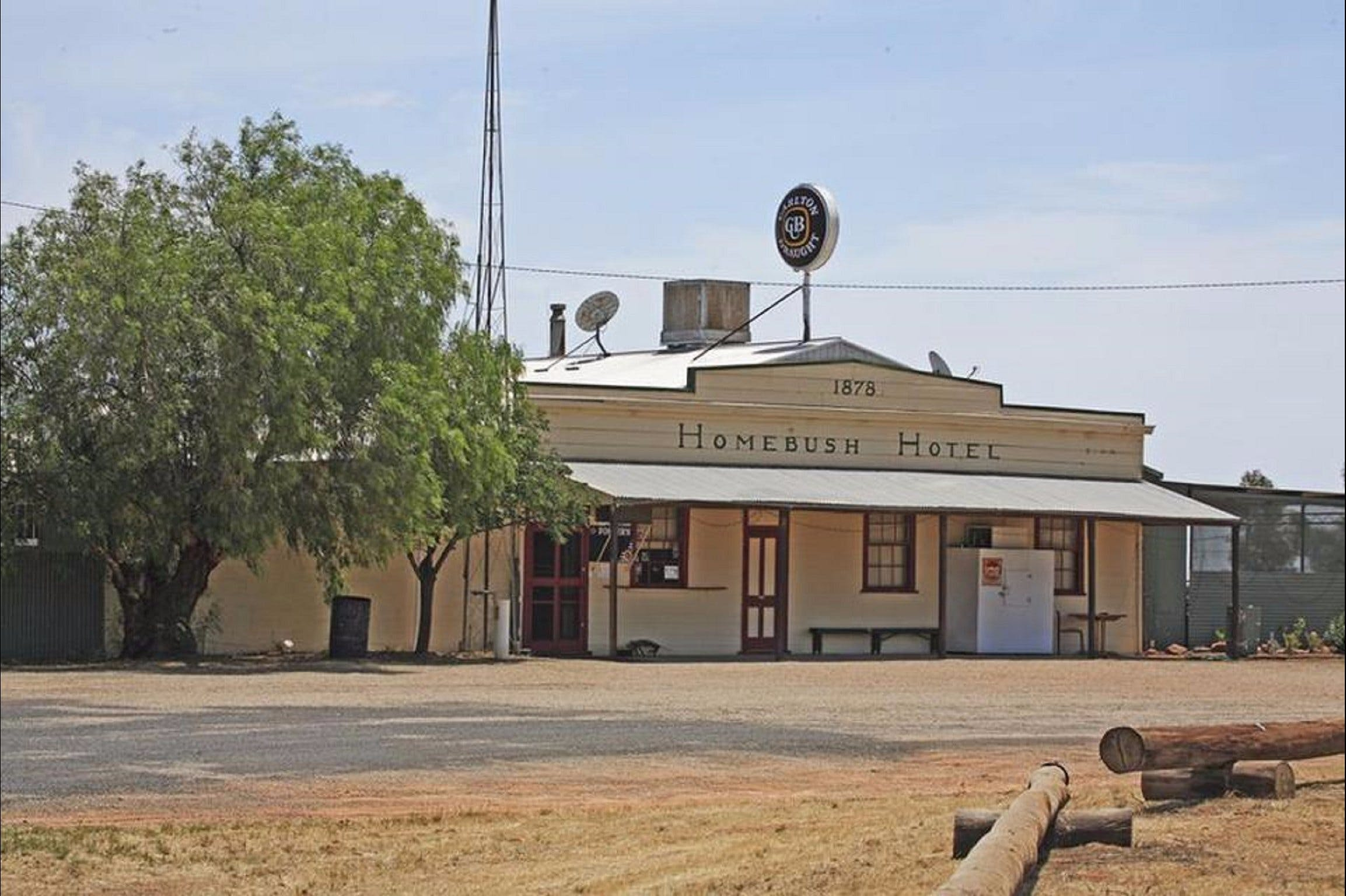 The Homebush - Accommodation NT