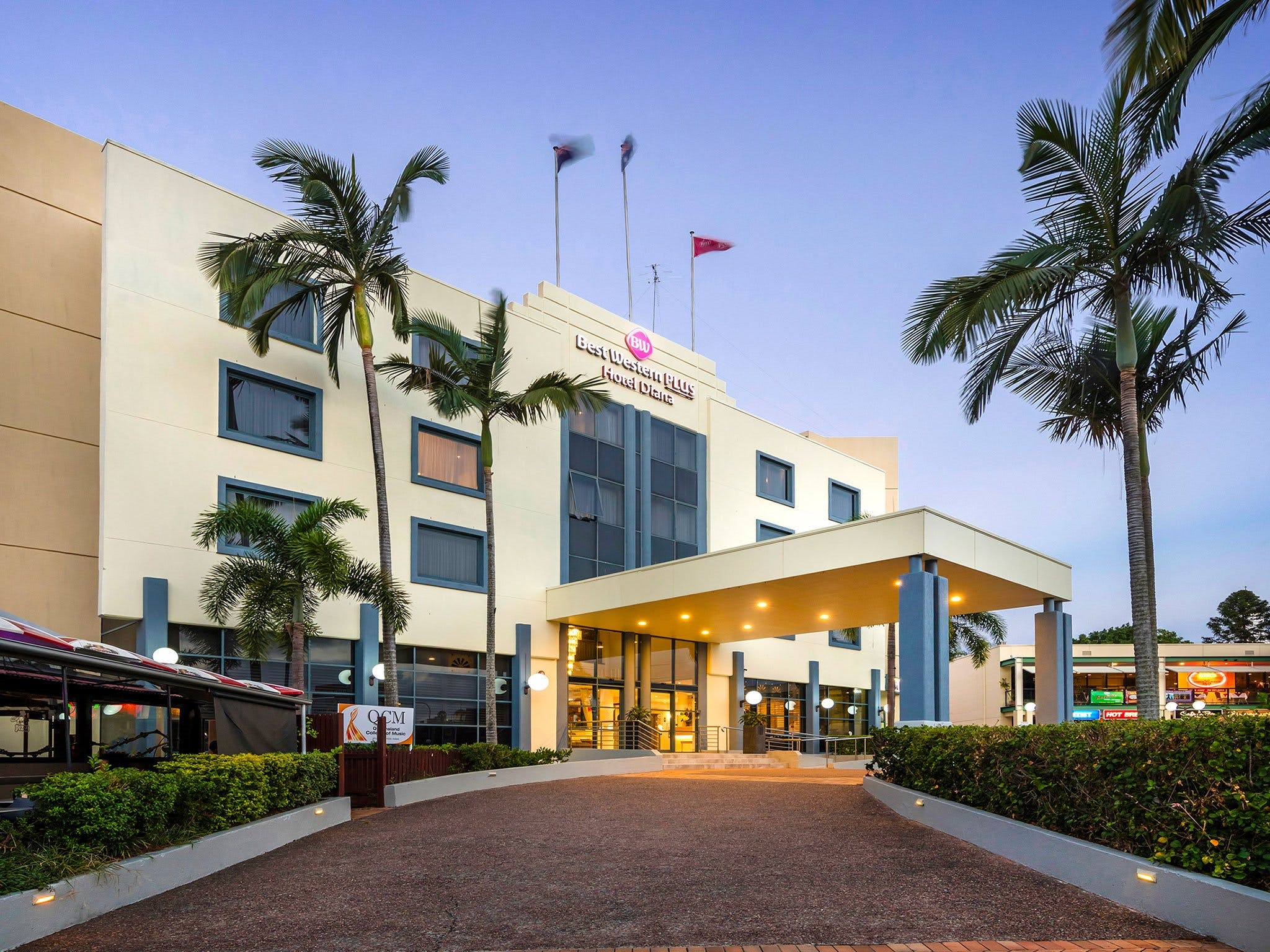 Best Western Plus Hotel Diana - Accommodation NT
