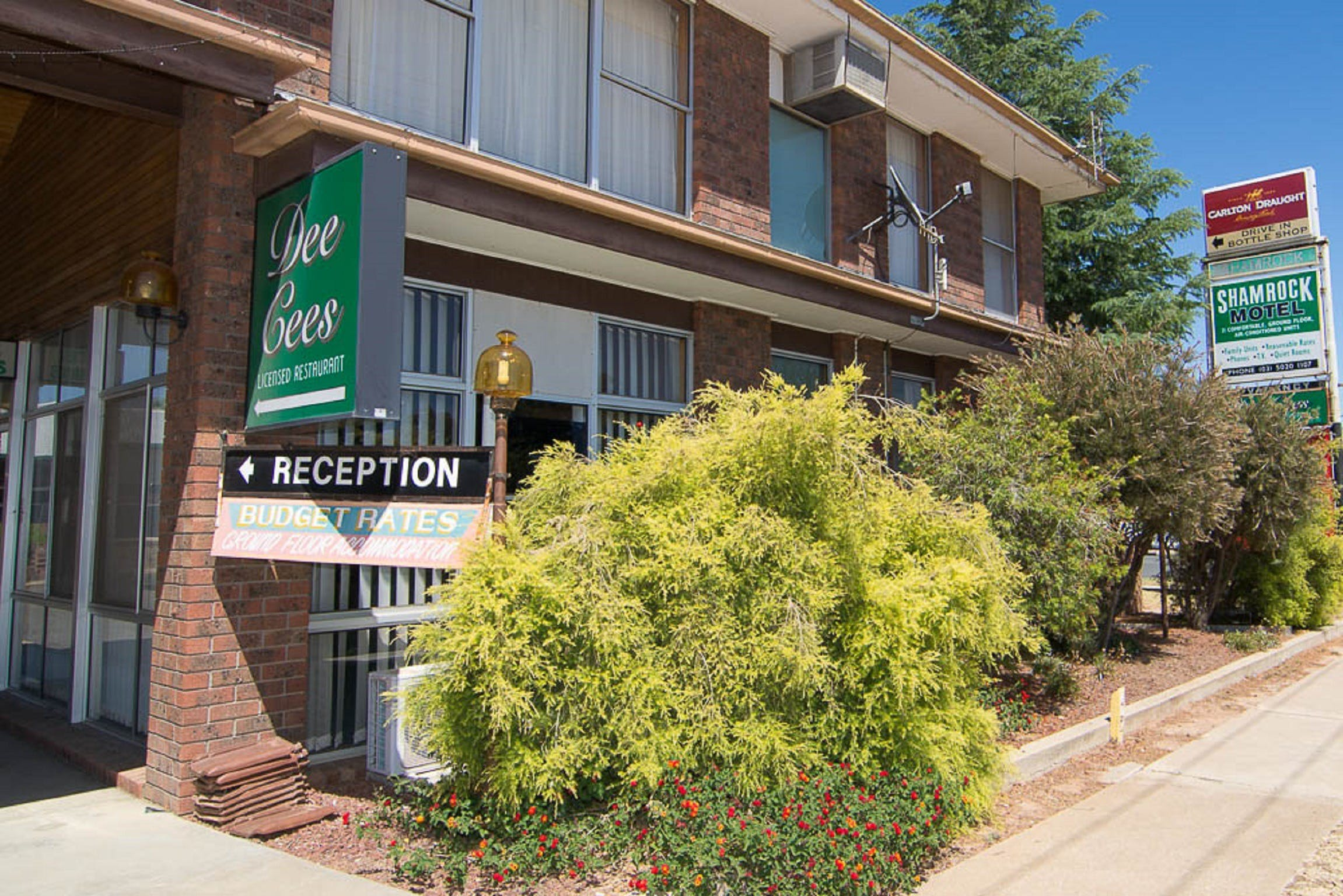 Shamrock Motel Balranald - Accommodation NT