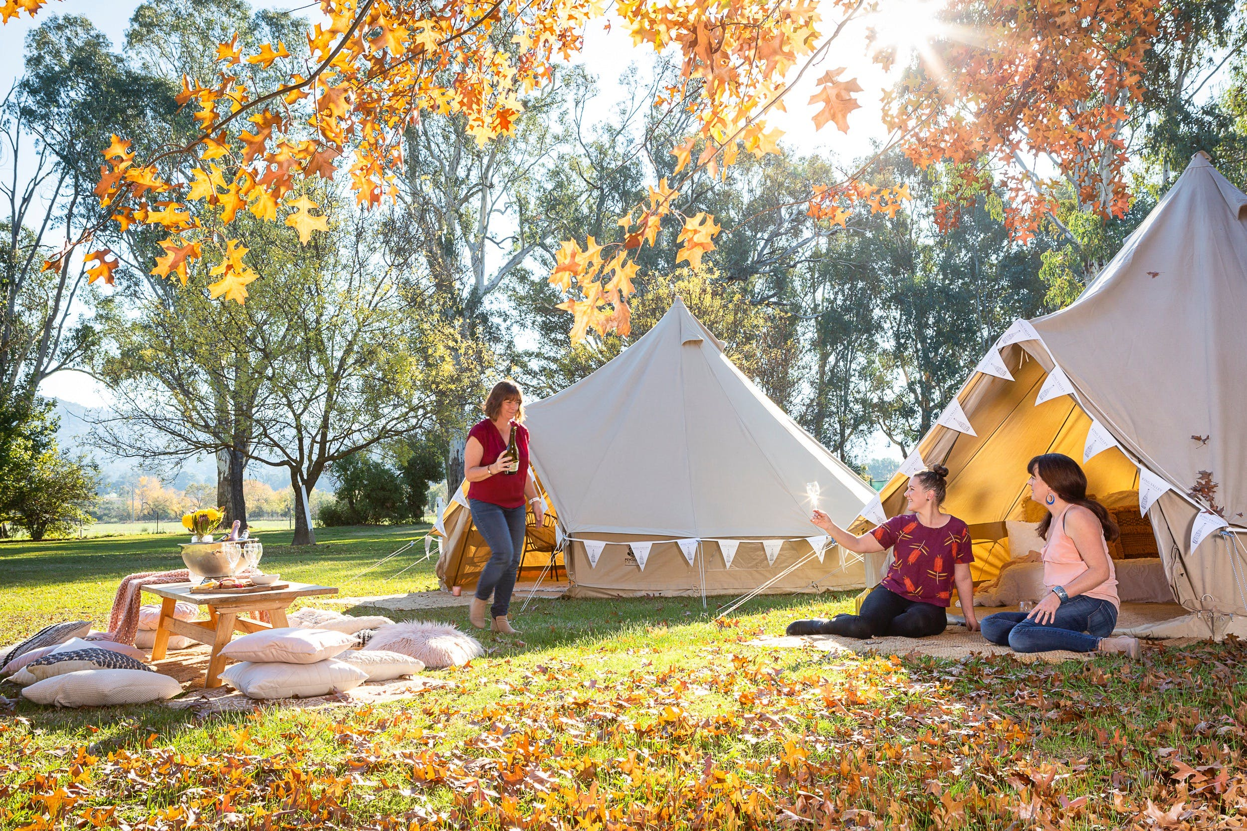 Valley View Glamping - Accommodation NT