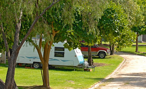 A Wangralea Caravan Park - Accommodation NT