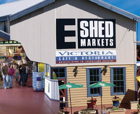 The E Shed Markets - Accommodation NT