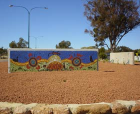 Council Office Mosaic - Accommodation NT