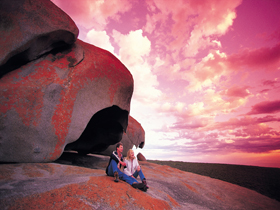 Remarkable Rocks Flinders Chase National Park - Accommodation NT