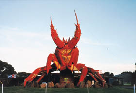 The Big Lobster - Accommodation NT