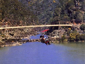 Launceston Cataract Gorge  Gorge Scenic Chairlift - Accommodation NT