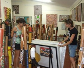 Top Didj  Art Gallery - Accommodation NT