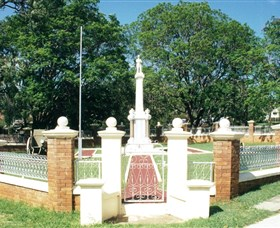 Boonah War Memorial and Memorial Park - Accommodation NT