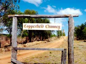 Copperfield Store and Chimney - Accommodation NT