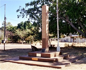 Mount Isa Memorial Cenotaph - Accommodation NT