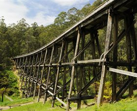 Noojee Trestle Bridge - Accommodation NT