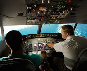 Jet Flight Simulator Sydney - Accommodation NT