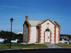 Royal Circus and Customs House in Robe