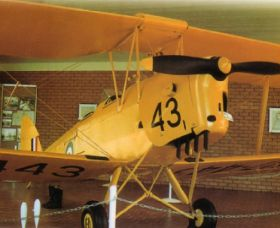 Tiger Moth Memorial - Accommodation NT