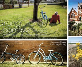 Grong Grong Borrow Bikes - Accommodation NT