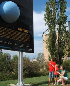 Worlds Largest Virtual Solar System Drive - Accommodation NT