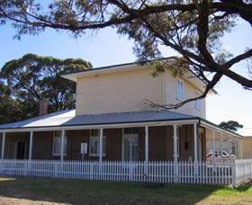 Restored Australian Inland Mission Hospital - Accommodation NT