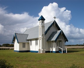 Tarraville Church - Accommodation NT