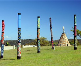 Maclean Tartan Power Poles - Accommodation NT