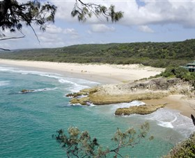 Main Beach North Stradbroke Island - Accommodation NT