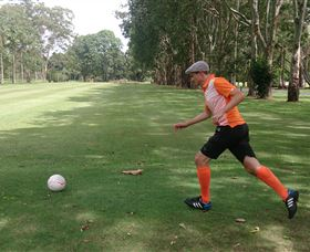 FootGolf at Teven Valley Golf Course - Accommodation NT