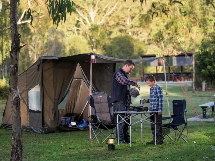 Hardings Paddock Campground - Accommodation NT