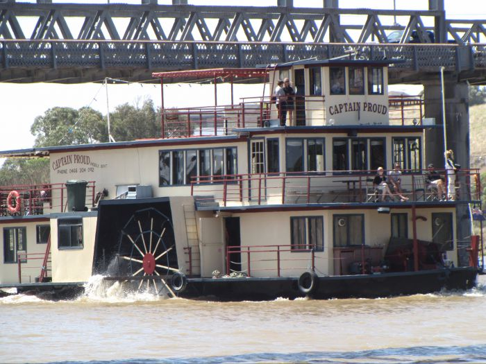 Captain Proud Paddleboat Cruises - Accommodation NT