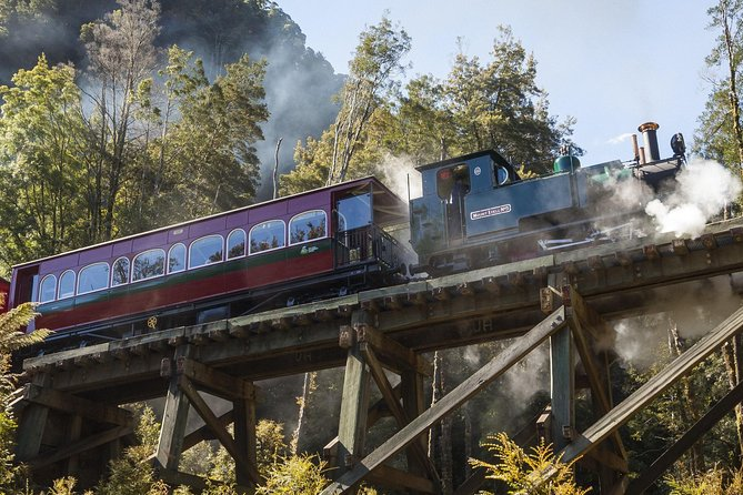 West Coast Wilderness Railway Queenstown Explorer from Strahan - Accommodation NT