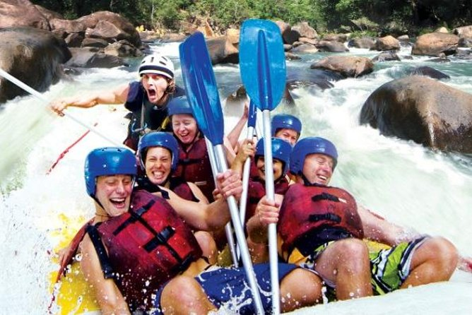 Tully River Full-Day White Water Rafting from Cairns including Lunch - Accommodation NT