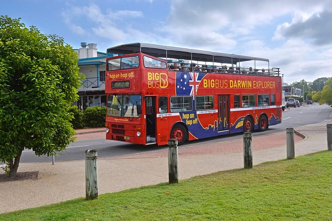 Darwin Shore Excursion Hop-on Hop-off Bus Tour - Accommodation NT