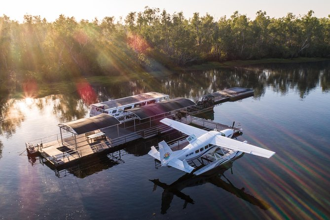 Outback Floatplane Safari Camp Overnighter including Airboat from Darwin - Accommodation NT
