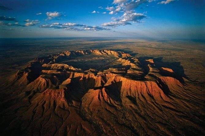 Fixed-Wing Scenic Flight from Ayers Rock Including Gosses Bluff Kings Canyon and Lake Amadeus