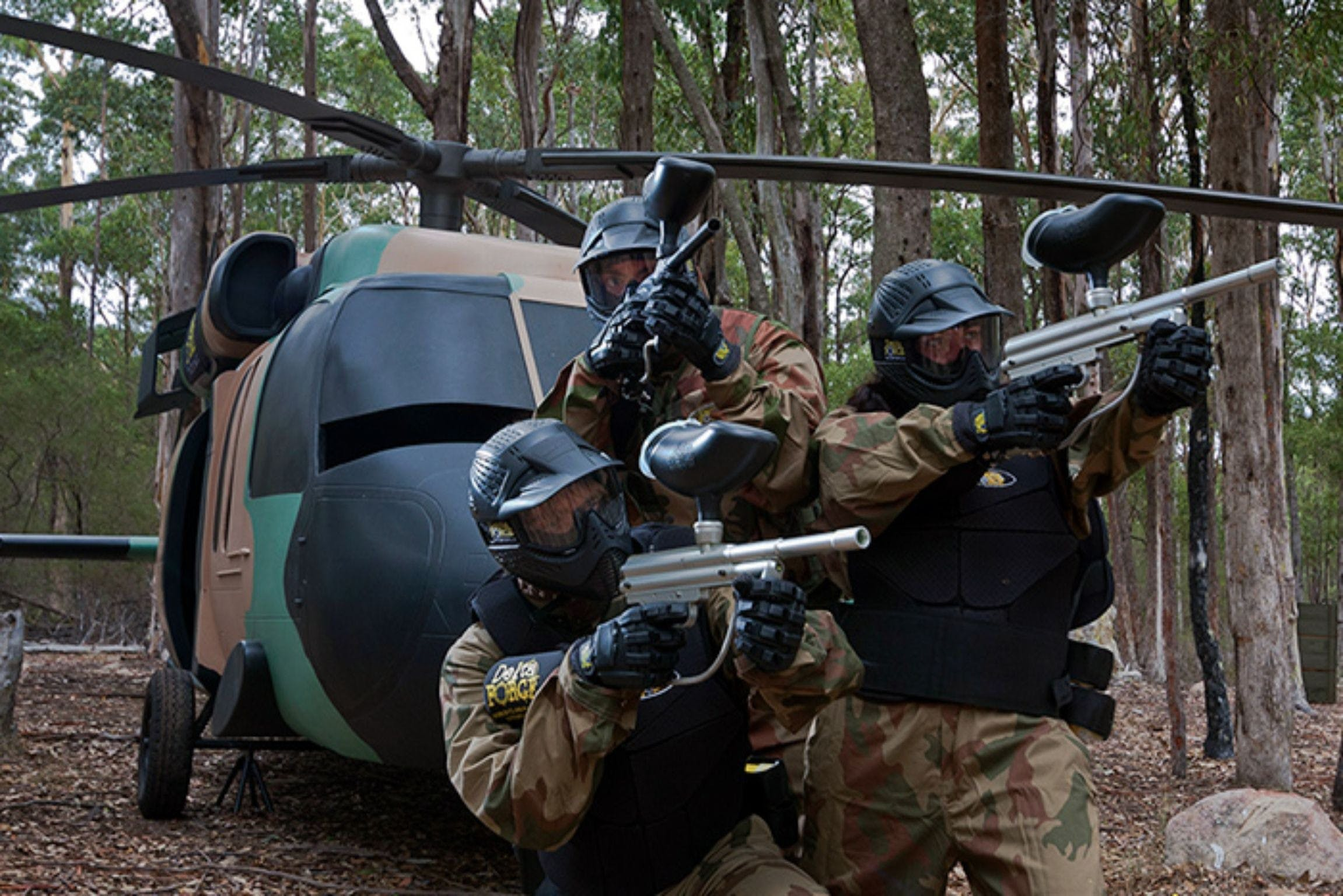 Delta Force Paintball Appin - Accommodation NT