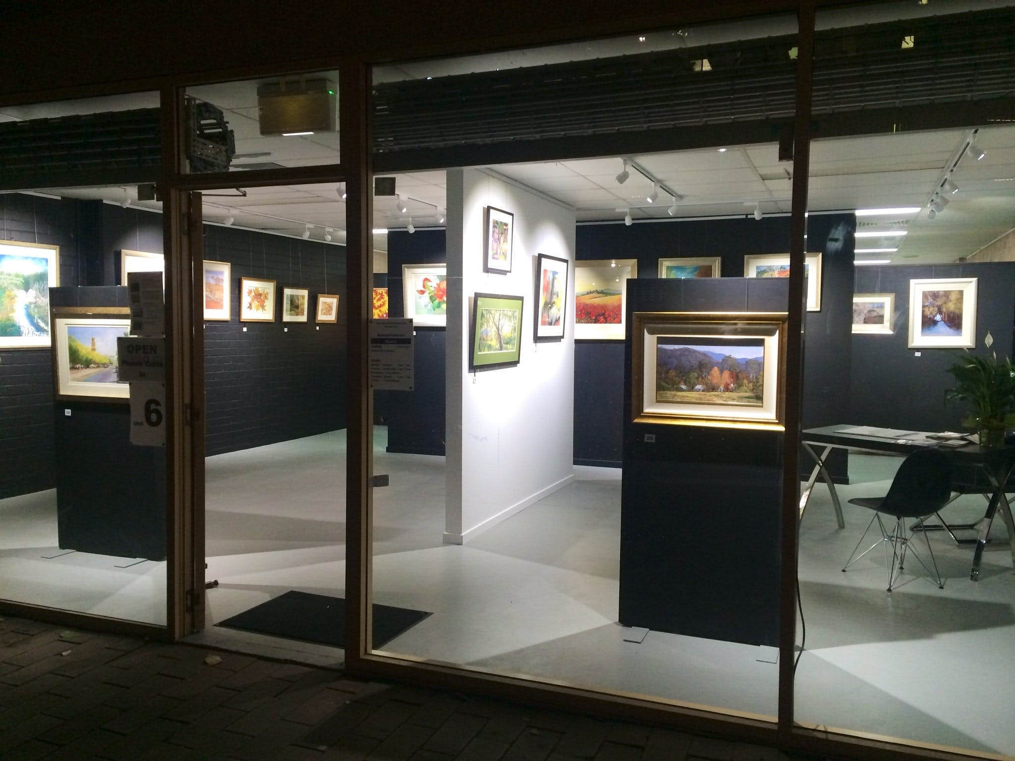 The Hunter Street Gallery of Fine Arts - Accommodation NT