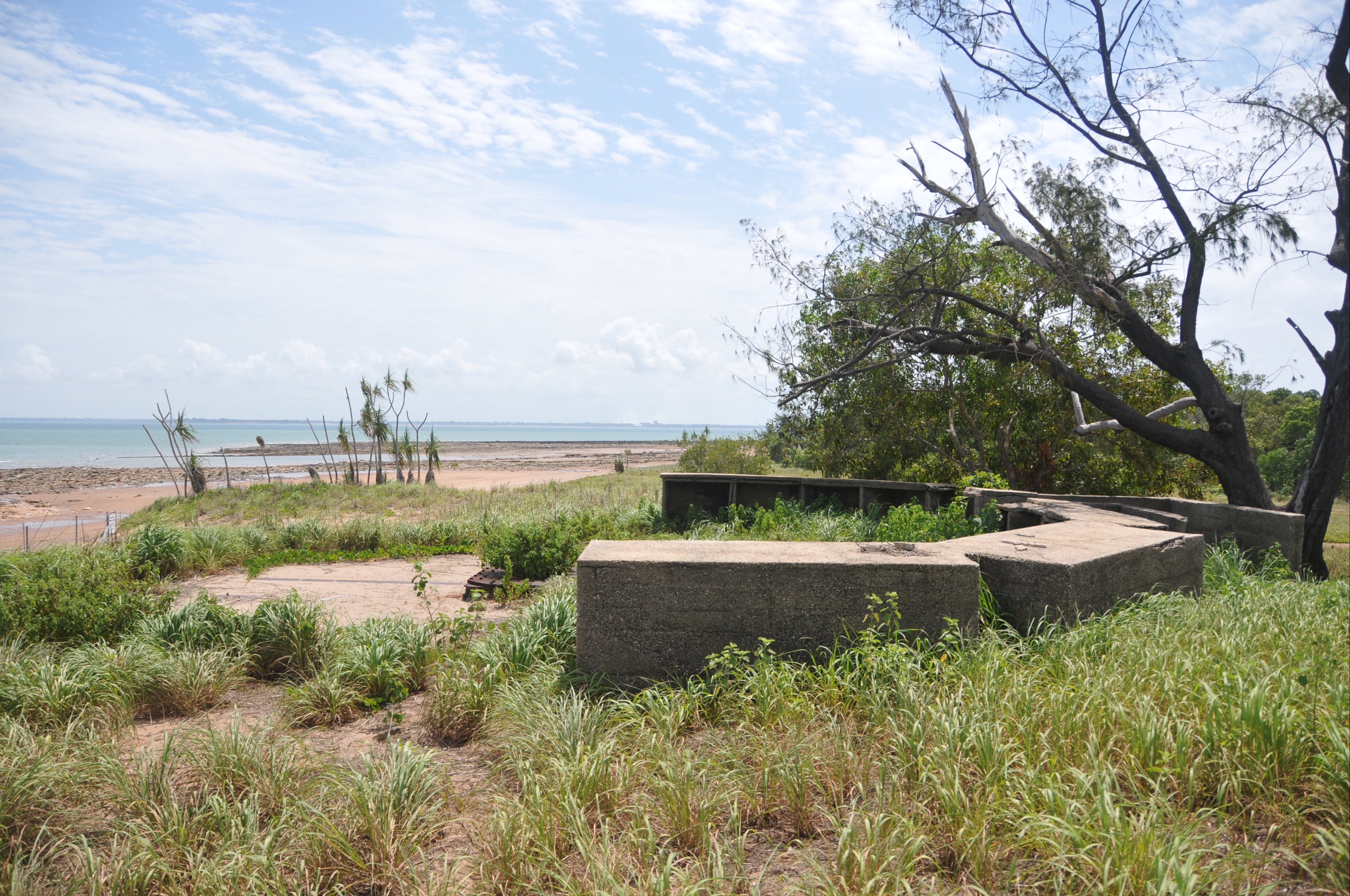 WWII Gun Emplacement Wagait Beach - Accommodation NT