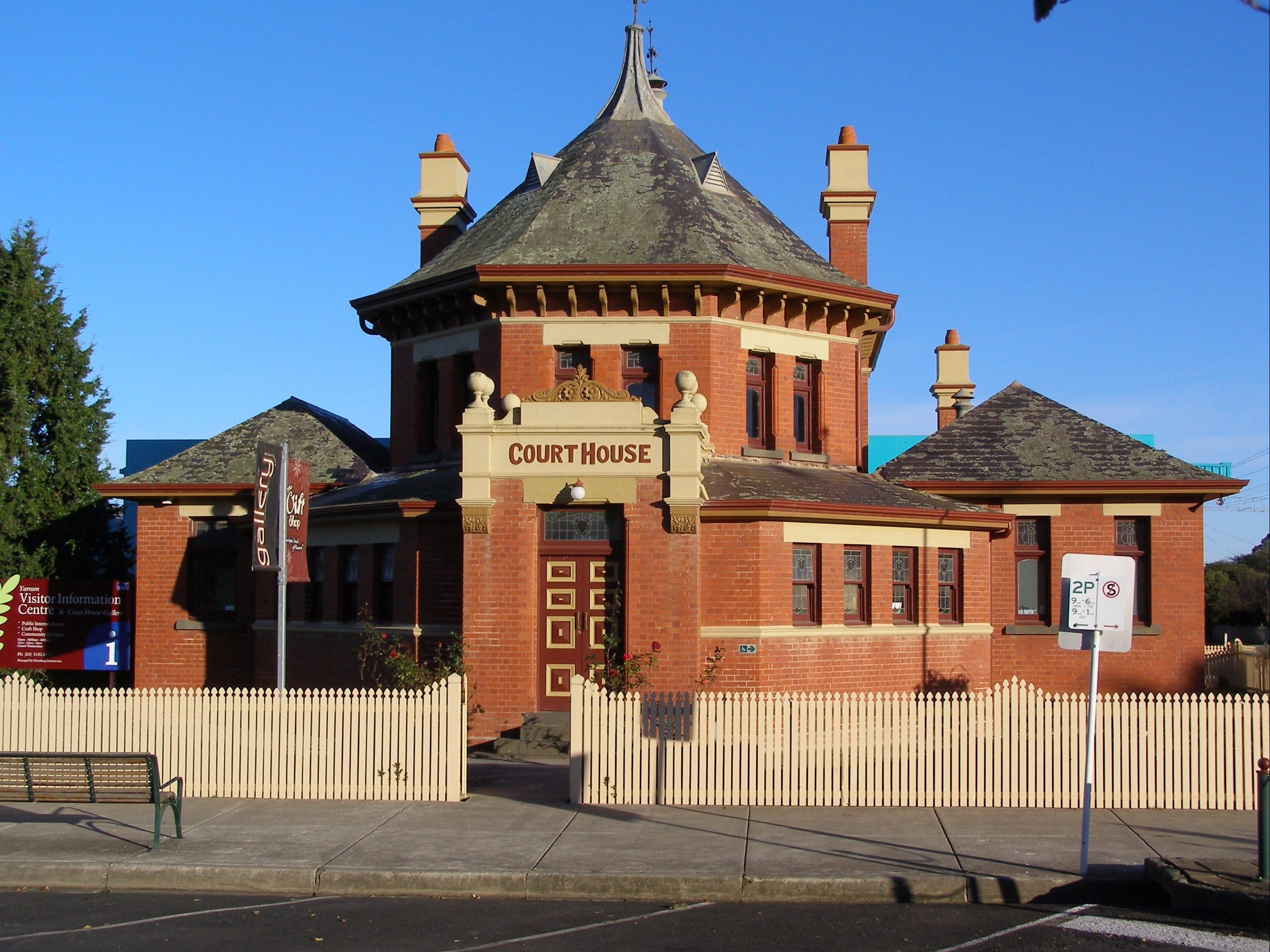 Yarram Courthouse Gallery - Accommodation NT